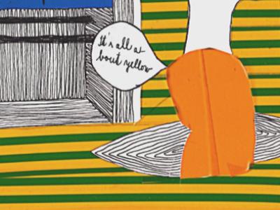 """""""Red Met Yellow"""", Petronela Dostalova"""