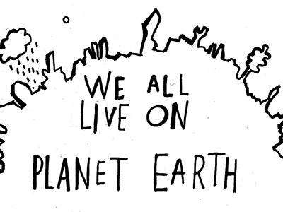 """We all live on planet Earth"", Dace Brakmane"