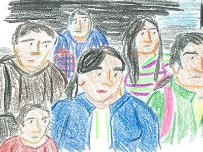 """""""Ромски бежанци"""", Лаура Кенинс"""
