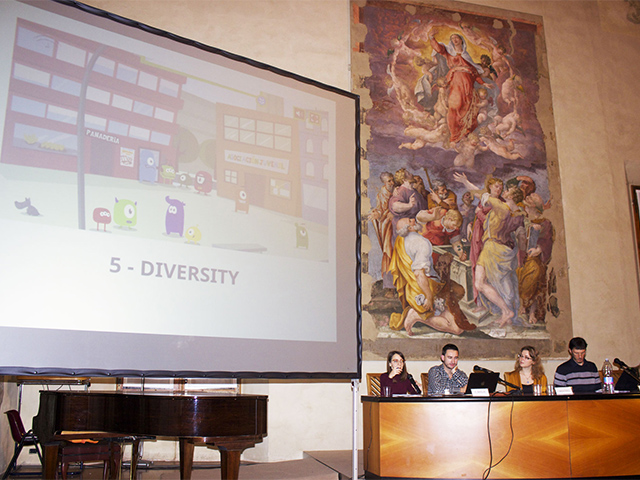 """Say it differently! – New forms of communication for antiracism and migration projects"" Friday 21 November 2014 from 5pm-7pm at Cappella Farnese – Palazzo d'Accursio, Piazza Maggiore 6, Bologna"