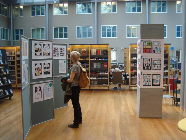 Comics for Equality exhibition at 29th Helsinki Comics Festival – from 5 to 30 September 2014 @ Arabiaranta, Helsinki – Finland