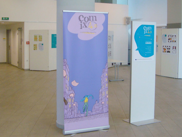 ComiX4= Exhibition in Austria